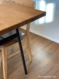 724. 新しいダイニングテーブルとお手入れグッズ - Une cachette 103