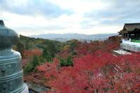 秋の京都 バスツーリング3 清水寺 - Photograph & My Super CUB110 【しゃしんとスクーター】