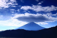 令和2年12月の富士(11)河口湖岸の富士 - 富士への散歩道 ~撮影記~