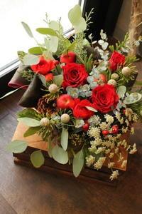 クリスマスギフト - 北赤羽花屋ソレイユの日々の花