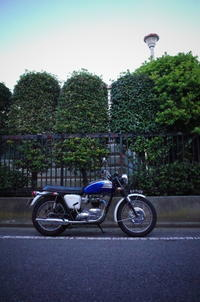 1963 TRIUMPH T120 車検取得 - Vintage motorcycle study