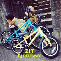 RITEWAY ライトウェイ 子供自転車 「ZIT ジット」キッズバイク おしゃれ子供車 ライトウェイジット - サイクルショップ『リピト・イシュタール』 スタッフのあれこれそれ
