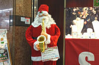 Santa Claus is coming to Town - Blue Planet Cafe  青い地球を散歩する