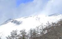 冬型の気圧配置で化粧直しを繰り返す浅間山 - Maystorm Journal                    寺山 光廣