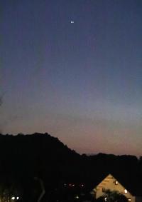 明日香上居(じょうご)木星と土星の超接近 - 魅せられて大和路