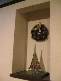 クリスマスリースはお家の中に - K's Sweet Kitchen