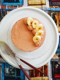 バナナのチョコショートケーキ♪ - This is delicious !!
