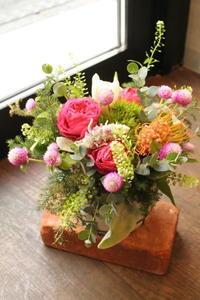 お誕生の花奥様へ - 北赤羽花屋ソレイユの日々の花