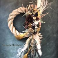 しめ縄リースと五重塔 - 花雑貨店 Breath Garden *kiko's  diary*