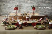 クリスマステーブルコーディネート2020 - ~Little Happy~