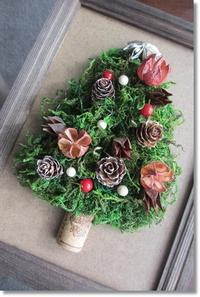 額の中のクリスマスツリー - My*Life