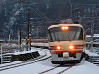 10年前の今庄駅で(2010年12月) - ポン太の写真帳別館