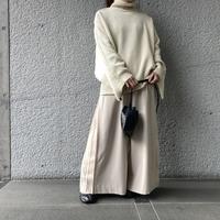 『CLANE』バックフリルニット! - 山梨県・甲府市 ファッションセレクトショップ OBLIGE womens【オブリージュ】