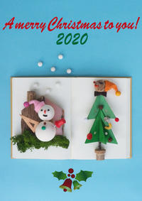 A merry Christmas to you! 2020 - 日々の営み 酒井賢司のイラストレーション倉庫