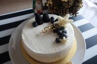 クリスマスケーキはGrden House Craftsさんでチーズケーキブランネージュ - *のんびりLife*