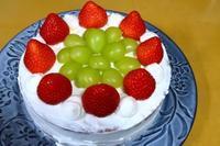 2020クリスマスケーキ - ~葡萄と田舎時間~ 西田葡萄園のブログ