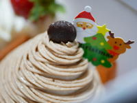 クリスマスケーキ - 三日おばさん