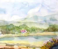 湖畔の宿 - ryuuの手習い