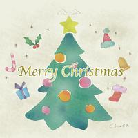 メリークリスマス - ** アトリエ Chica **