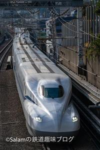 たまには新幹線も撮影してみる - Salamの鉄道趣味ブログ