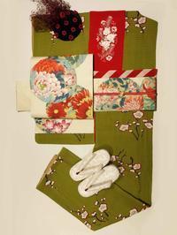 お正月に着たいアンティーク着物コーデをご紹介♪ - 豆千代モダン 新宿店 Blog