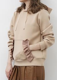 フリルパーカ🤍 - Select shop Blanc