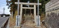 郡山東側の狛犬/三渡神社@福島県郡山市 - 963-7837