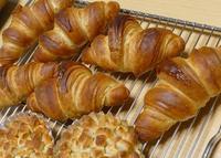 クロワッサン&ゴマ山食 - ~あこパン日記~さあパンを焼きましょう