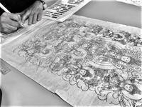 仏画曼荼羅アートの、来年1月の予定。 「描きたい・書きたい・写したい」の熱意が強い支えに! - ライブ インテリジェンス アカデミー(LIA)