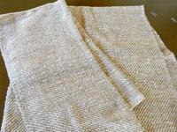 手紡ぎの綿でバスタオルを織る - ゆうゆう覚書