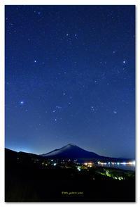 山中湖パノラマ台  冬のダイヤモンド - toru photo box