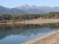 湖面の御在所 - 日々の風景