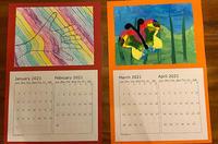 るうるう今年も頑張ったクリプレ作成、カレンダー2021 - くもりのち雨、ときど~き晴れ Seattle Life 3