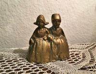 ブロンズ2婦人の卓上ベル8 - スペイン・バルセロナ・アンティーク gyu's shop