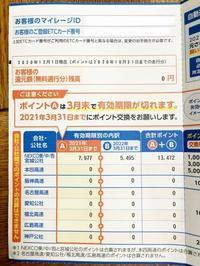 ETCマイレージサービス、ポイント交換 - 某の雑記帳