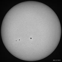 12月27日の太陽 - お手軽天体写真