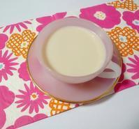 手作りタイガーナッツミルク「オルチャタ」, Homemade Tiger nuts milk (horchata) - latina diary blog