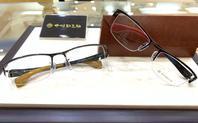 高級感あふれる勘三郎メガネメガネのノハラ京都ファミリー店遠近両用体験ブース - メガネのノハラ 京都ファミリー店 staffblog@nohara