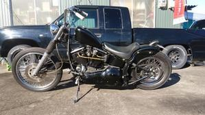 FOR SALE  ハーレーダビッドソン 93FXSTC エボソフテイル - 長野県上田市と東御市の境 タダのバイク屋 Garage Giraffe ガレージ ジラフ   Harley Davidson ハーレー