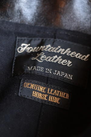 FOUNTAINHED LEATHER をご紹介します!! - mambo
