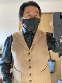 ~オーダーシャツ&共地マスク~その参fukkundes 編 - 服飾プロデューサー 藤原俊幸のブログ