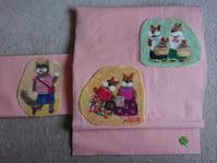 スペシャル展示羊毛刺繍の帯 - うららフェルトライフ