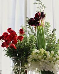 1月は冬のパープル【やまようセレクト花材】スケジュールのお知らせ。 - 新しい地図 ~ やまよう編(アンフィモンフルール)