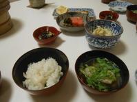 クリスマスですがお酒なしの夕ご飯 - のび丸亭の「奥様ごはんですよ」日本ワインと日々の料理