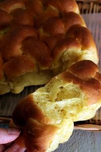 かぼちゃのちぎりパン - Takacoco Kitchen