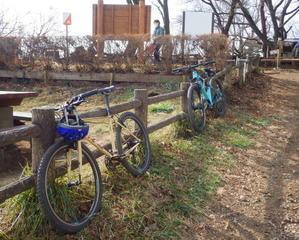 自転車(MTB)で日影沢林道 -