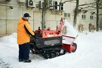 雪の少ない年末とハイパワーには役不足の除雪機 - 照片画廊