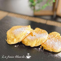 『ふわふわパンケーキ』🥞💕 - 埼玉カルトナージュ教室 ~ La fraise blanche ~ ラ・フレーズ・ブロンシュ
