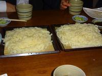 前橋うどん太麺(平打)細麺食べ比べ - しゅんこう日記
