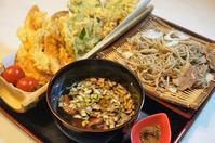 ■年越し蕎麦【鴨南蟹天婦羅蕎麦】/年末の頂き物2軒 - 「料理と趣味の部屋」